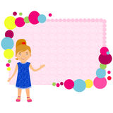 Fondo felice di stile di vita Celebrazione della bambina Fotografie Stock