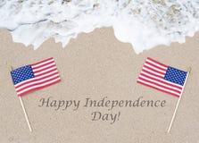 Fondo felice di U.S.A. di festa dell'indipendenza Fotografia Stock Libera da Diritti