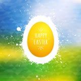Fondo felice di vettore di Pasqua Fotografia Stock Libera da Diritti