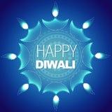 Fondo feliz con estilo del diwali