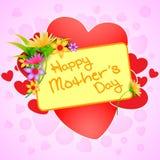 Fondo feliz de la celebración del día de madre Fotos de archivo