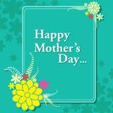 Fondo feliz de la celebración del día de madre Foto de archivo