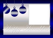 Fondo feliz de la foto de Hanukkah Foto de archivo libre de regalías