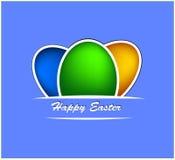 Fondo feliz de pascua Imagen de archivo libre de regalías
