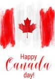 Fondo feliz del día de Canadá Fotografía de archivo libre de regalías