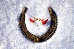 Fondo feliz del día de tarjetas del día de San Valentín Imágenes de archivo libres de regalías