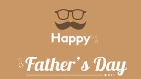 Fondo feliz del marrón del día de padre libre illustration