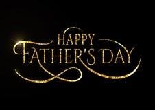 Fondo feliz del vector del diseño de los deseos del día de padres Recompensa del saludo del padre de la moda Cartel del papá para