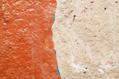 Fondo feo de la pared Fotografía de archivo libre de regalías