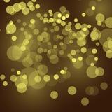 Fondo festivo abstracto con las luces defocused del bokeh, ejemplo del vector
