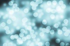Fondo festivo blu di Natale Priorità bassa astratta elegante Fotografia Stock Libera da Diritti