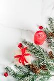 Fondo festivo de la Navidad Imagen de archivo