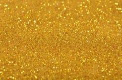 Fondo festivo de las lentejuelas del oro Imágenes de archivo libres de regalías