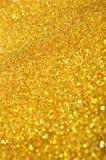 Fondo festivo de las lentejuelas del oro Fotografía de archivo libre de regalías