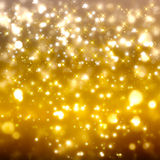 Fondo festivo de oro reluciente Imagen de archivo