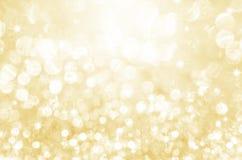 Fondo festivo del brillo del oro fotografía de archivo libre de regalías