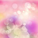 Fondo festivo del rosa, violeta y anaranjado con Fotos de archivo libres de regalías
