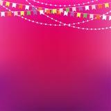 Fondo festivo Plantilla del diseño de la invitación del partido ilustración del vector