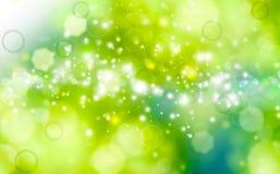 Fondo festivo verde Imagen de archivo
