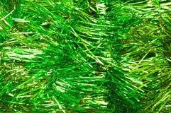 Fondo festivo verde para las postales Año Nuevo, fondo de la Navidad Fotografía de archivo libre de regalías
