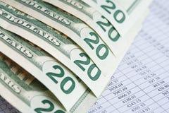 Fondo financiero Foto de archivo libre de regalías
