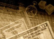 Fondo financiero del éxito Foto de archivo