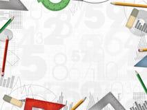 Fondo financiero del negocio de la contable del contable ilustración del vector