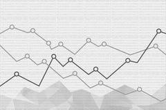 Fondo finanziario astratto del grafico Illustrazione di vettore illustrazione vettoriale