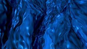 Fondo flúido azul profundo libre illustration