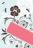Fondo floral Imagen de archivo