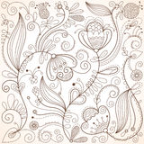 Fondo floral ilustración del vector