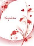 Fondo floral Fotografía de archivo libre de regalías