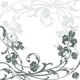 Fondo floral abstracto Fotografía de archivo