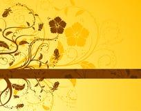 Fondo floral abstracto Imágenes de archivo libres de regalías