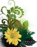 Fondo floral abstracto Imagen de archivo