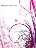 Fondo floral abstracto Fotos de archivo libres de regalías
