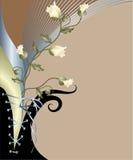 Fondo floral abstracto Imagen de archivo libre de regalías