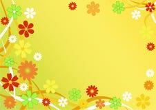 Fondo floral abstracto. Fotos de archivo