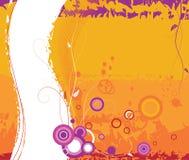 Fondo floral abstracto. Imagen de archivo libre de regalías