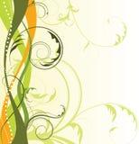 Fondo floral abstracto con el espacio libre su te Fotos de archivo