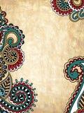 Fondo floral abstracto de Grunge Imagen de archivo libre de regalías