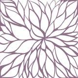 Fondo floral abstracto del vector Fotografía de archivo libre de regalías