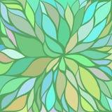 Fondo floral abstracto del vector Fotos de archivo libres de regalías