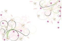 Fondo floral abstracto, elemento para el diseño Fotos de archivo libres de regalías