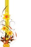 Fondo floral abstracto, elemento para el diseño Imagen de archivo