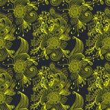 Fondo floral abstracto inconsútil Fotografía de archivo libre de regalías