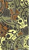 Fondo floral abstracto inconsútil Imagenes de archivo