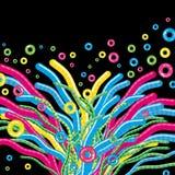 Fondo floral abstracto - una hierba fantástica Fotografía de archivo libre de regalías
