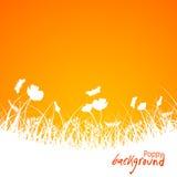 Fondo floral abstracto, vector Imagen de archivo