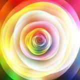 Fondo floral abstracto, visión superior ilustración del vector